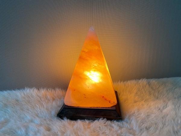 """Lampe geschliffen """"Pyramide"""""""